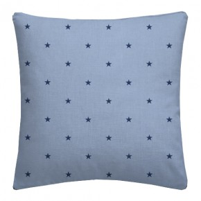 Clarke and Clarke Sketchbook Etoile Denim Cushion Covers