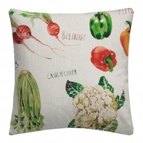A Village Life  Farmers Market  Cream  Cushion CoA Vers