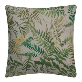 Country Garden Fern Glade Linen Cushion Covers