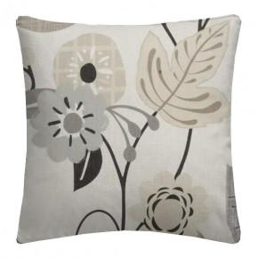 Clarke and Clarke Folia Folia Charcoal Cushion Covers
