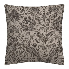 Country Garden Forest Trail Charcoal Cushion Covers