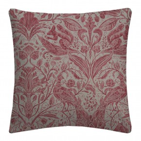 Country Garden Forest Trail Raspberry Cushion Covers