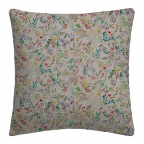 Country Garden Forget Me Not Linen Cushion Covers