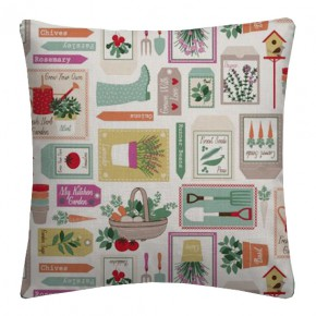 Clarke and Clarke Sketchbook Gardening Spring Cushion Covers