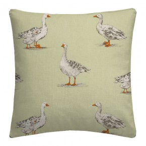 Clarke and Clarke Blighty Geese Sage Cushion Covers