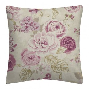 Clarke and Clarke Genevieve Clarke and Clarke Genevieve Mulberry Cushion Covers