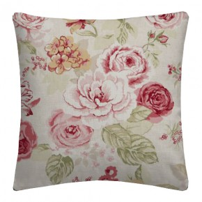 Clarke and Clarke Genevieve Clarke and Clarke Genevieve OldRose Cushion Covers