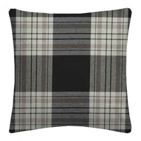 Clarke and Clarke Glenmore Clarke and Clarke Glenmore Charcoal Cushion Covers