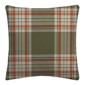 Clarke and Clarke Glenmore Clarke and Clarke Glenmore Olive Cushion Covers