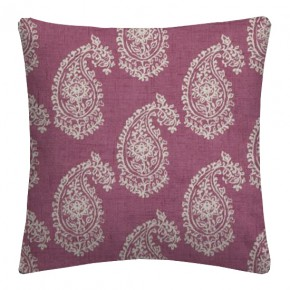 Clarke and Clarke Genevieve Harriet Mulberry Cushion Covers