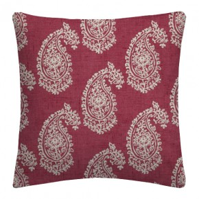 Clarke and Clarke Genevieve Harriet Raspberry Cushion Covers