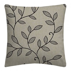 Clarke and Clarke Richmond Hetton Charcoal Cushion Covers