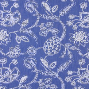 Indigo Phoenix Denim Curtain Fabric