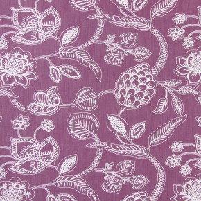 Indigo Phoenix Mulberry Curtain Fabric