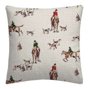 Clarke and Clarke Blighty Horse&Hound Multi Cushion Covers