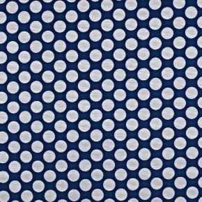 Prestigious Textiles Annika Pia Navy Curtain Fabric
