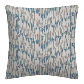 Clarke and Clarke Chateau Jardin Aqua Cushion Covers