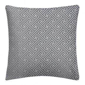 Prestigious Textiles Metro Key Silver Cushion Covers