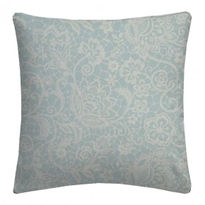 Clarke and Clarke Garden Party Lace Mineral Cushion Covers