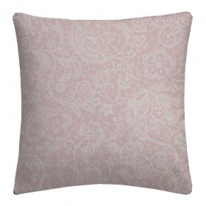 Clarke and Clarke Garden Party Lace Pink Cushion Covers