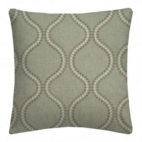 Clarke and Clarke Halcyon Layton Dove Cushion Covers