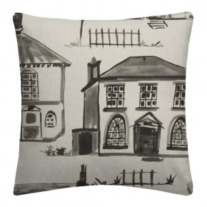 Clarke and Clarke Folia Maison Charcoal Cushion Covers