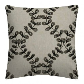 Clarke and Clarke Richmond Malham Charcoal Cushion Covers