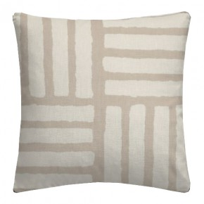 Clarke and Clarke Astrid Malva Natural Cushion Covers