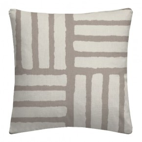 Clarke and Clarke Astrid Malva Taupe Cushion Covers
