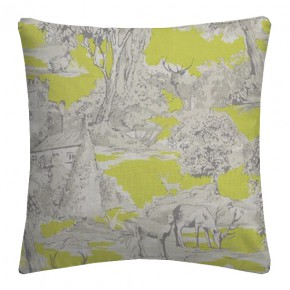 Clarke and Clarke Garden Party Manor Toile Citrus Cushion Covers