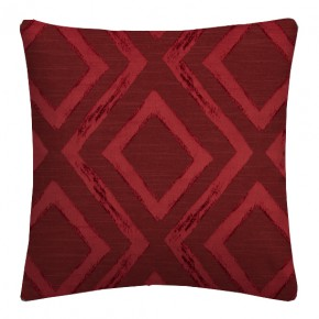 Prestigious Textiles Eden Matico Cranberry Cushion Covers