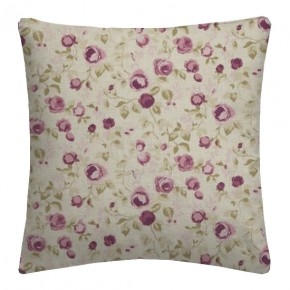 Clarke and Clarke Genevieve Maude Mulberry Cushion Covers