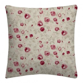 Clarke and Clarke Genevieve Maude Raspberry Cushion Covers