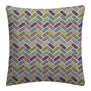 Clarke and Clarke Cariba Maya Heather Cushion Covers
