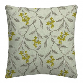 Clarke and Clarke Halcyon Melrose Chartreuse Cushion Covers
