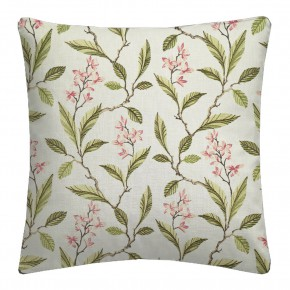 Clarke and Clarke Halcyon Melrose Pink/Apple Cushion Covers