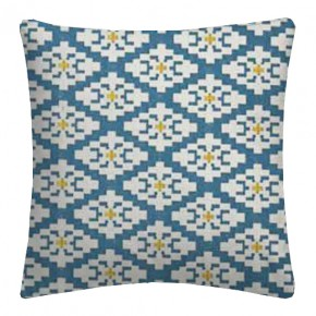 Clarke and Clarke Chateau Michel Aqua Cushion Covers