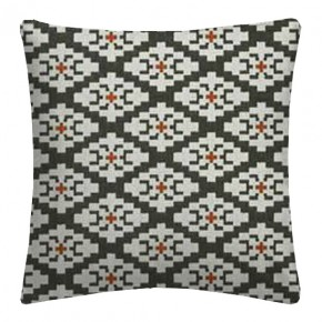 Clarke and Clarke Chateau Michel Noir/Sunset Cushion Covers