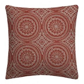 Prestigious Textiles Provence Montpellier Paprika Cushion Covers