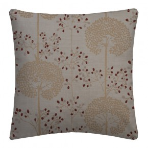Prestigious Textiles Eden Moonseed Cranberry Cushion Covers