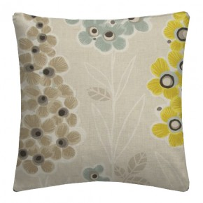 Clarke and Clarke Cariba Mustique Chartreuse Cushion Covers