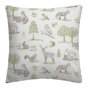 Clarke and Clarke Blighty Newforest Natural Cushion Covers