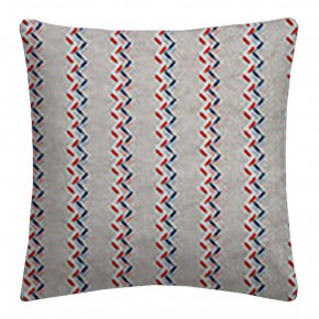 Clarke and Clarke Oslo Norah Coral Denim Cushion Covers