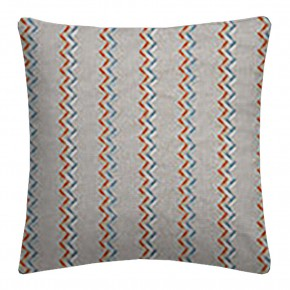 Clarke and Clarke Oslo Norah Spice Teal Cushion Covers