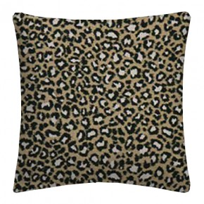 Clarke and Clarke Chateau Ocelot Ebony Cushion Covers