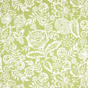 Clarke and Clarke Genevieve Polly Sage Curtain Fabric