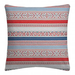 Clarke and Clarke Oslo Ommel Coral Denim Cushion Covers