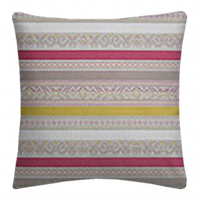 Clarke and Clarke Oslo Ommel Fuchsia Apple Cushion Covers