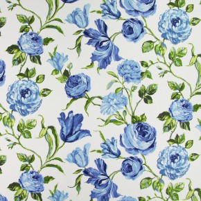Prestigious Textiles Blossom Portia Indigo Made to Measure Curtains