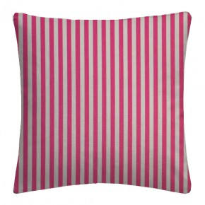 Clarke and Clarke Garden Party Party Stripe Raspberry Cushion Covers